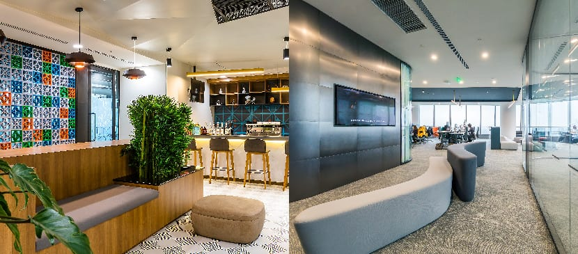 Rubrik Bangalore workspace is both LEED and WELL certified and Polestar Shanghai office is LEED certified
