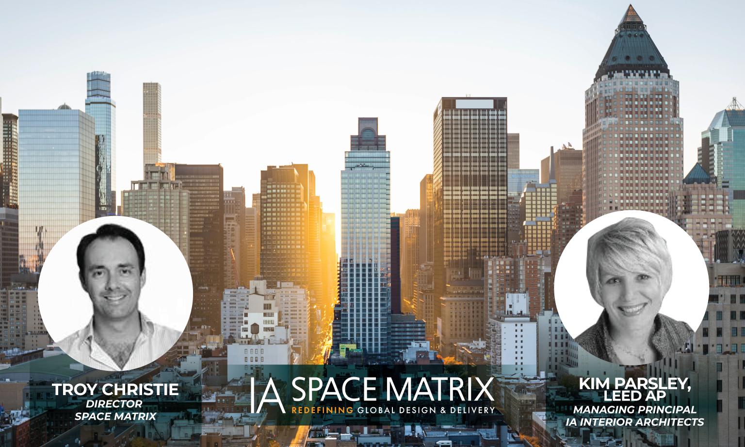 Troy Christie and Kim Parsley lead the IA Space Matrix Global Studio