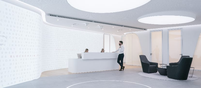Diginex Hong Kong is a tech enabled office space that is also security driven