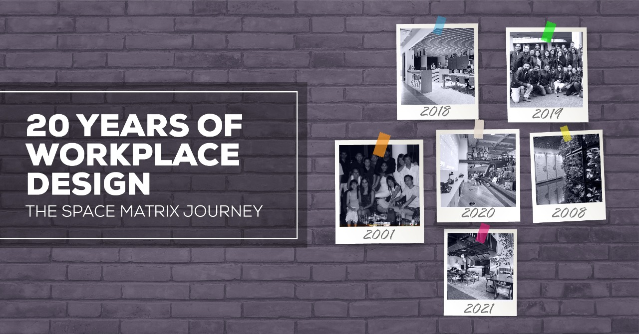 Join us on the Space Matrix workplace design journey over the last 20 years.