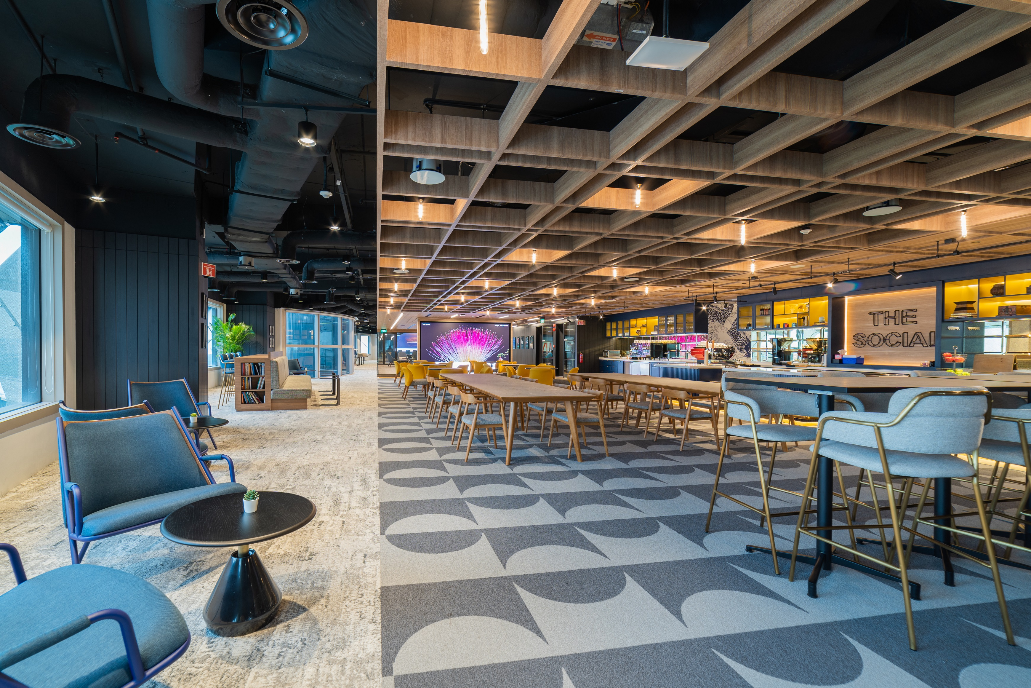 Hilton's Singapore workplace strategy captures the brand's emphasis on hospitality